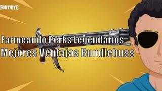 🔴 FORTNITE Want Legendary Perks? Bundlebuss road to full perks Save The World PC