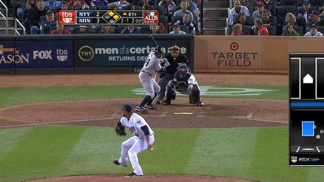 2010 Alds Gm1 Yankees Score Four Runs In The Sixth