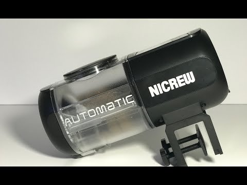 Nicrew Automatic Fish Feeder - How It Works