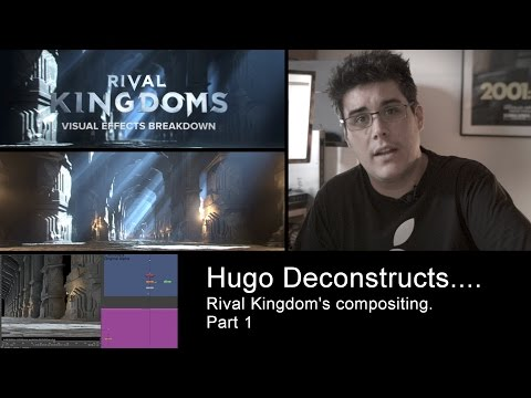 Hugo Deconstructs - Rival Kingdom's compositing - part 1- Nuke Tutorial