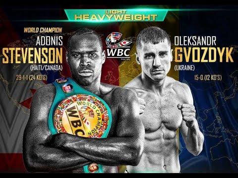 Адонис Стивенсон vs. Александр Гвоздик / Stevenson vs. Gvozdik
