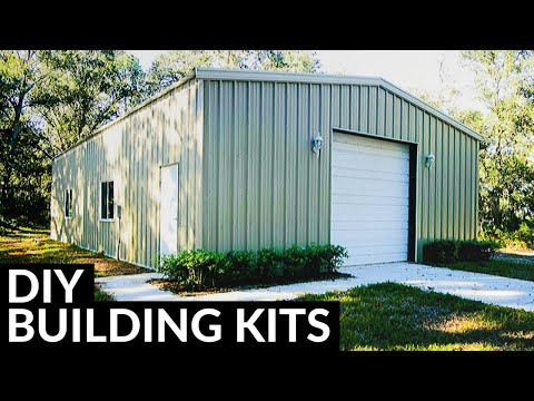 Customizable Steel Building Kits