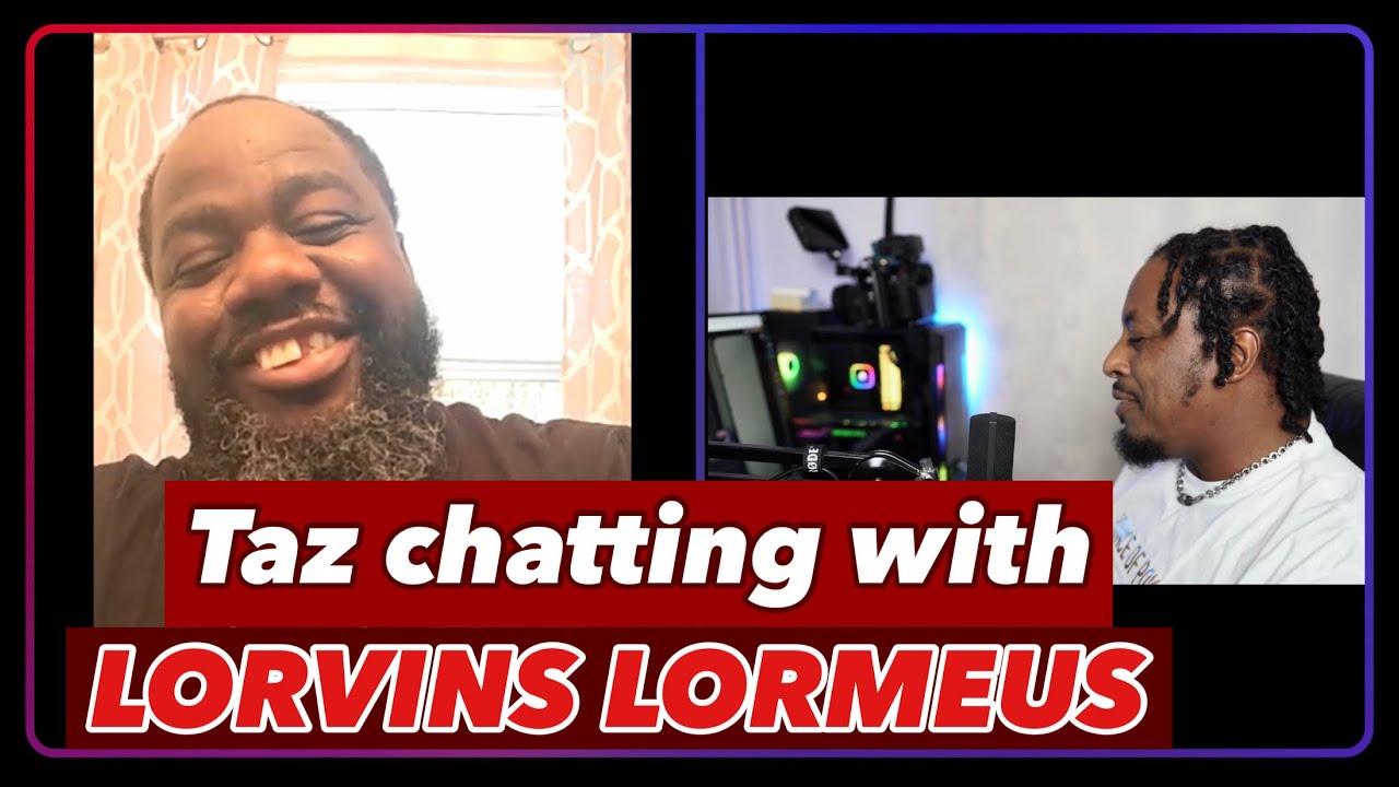 Taz talks with Lorvins Lormeus | Raw Talent