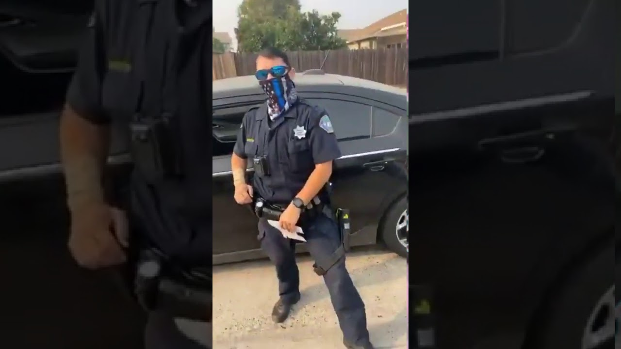 Mother defends son from suspected WS police officer.