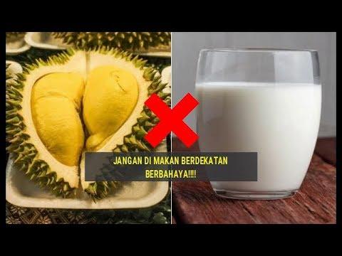 5 makanan dan minuman yang tidak boleh dikonsumsi bersama durian
