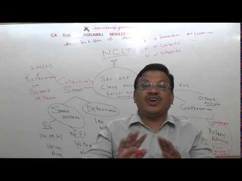 ca dhruv agrawal CA FINAL  NEW COMPANY ACT CLASS ACTION
