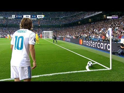 Luka Modric vs Apoel Nicosia Home (13/09/2017) HD 1080i