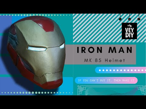 DIY Iron Man MK 85 Helmet from Avengers Endgame