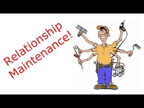 Download Relationship Maintenance 📕 David Spates video diary # 36