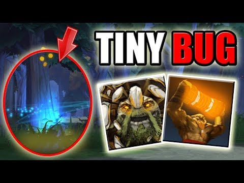 Invisible Tiny Hero Model + Range Attacks [Grow + Enchant Totem] Dota 2 Ability Draft