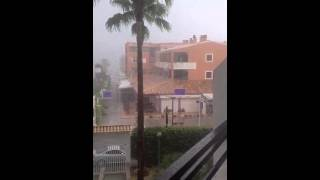 Storms in Alcudia
