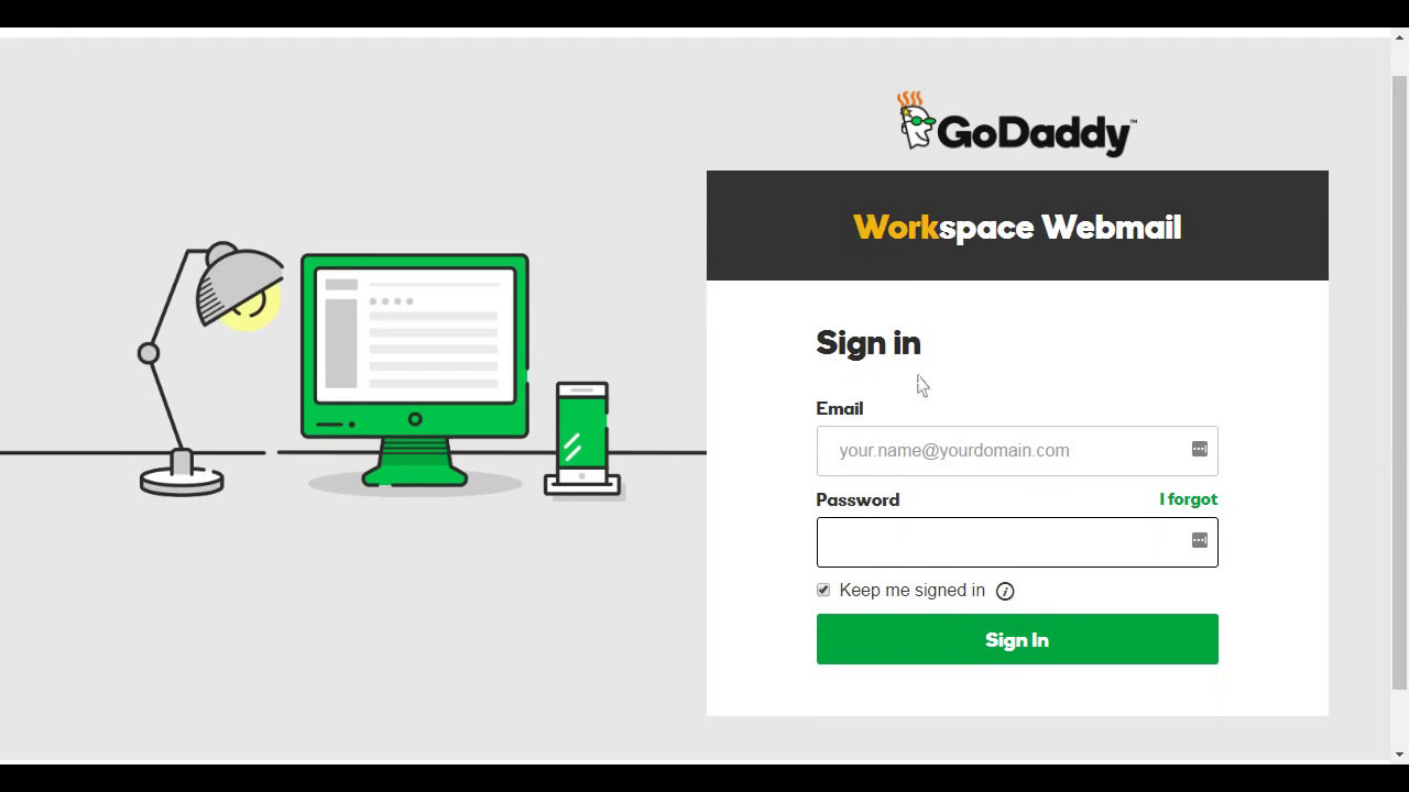 GoDaddy Email Login Tu...