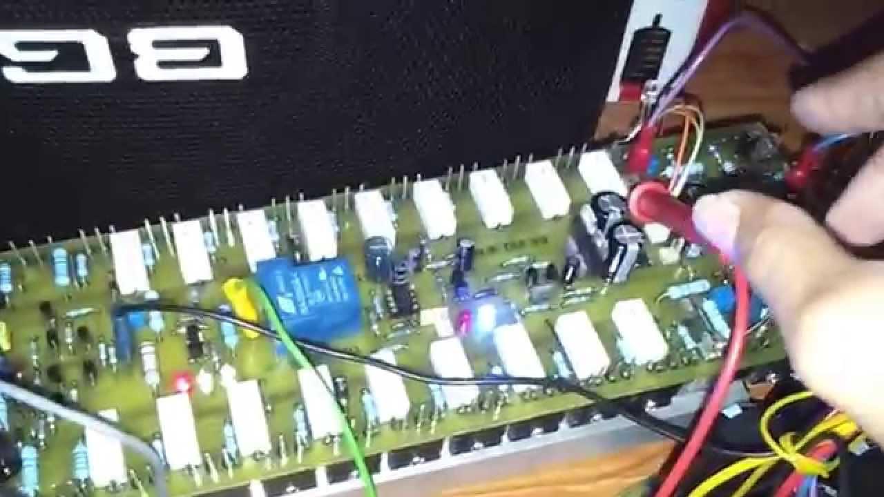 APEX HBTEF V2 POWER AMP TES LOAD 3 OHM VOLTAGE 114VAC