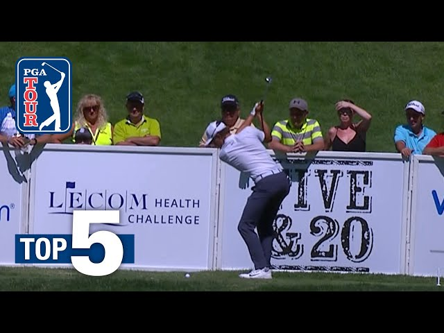 Top 5 Shots of the Week | The Greenbrier 2018