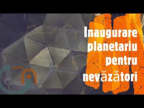 Inaugurare planetariu pentru nevazatori la Barlad