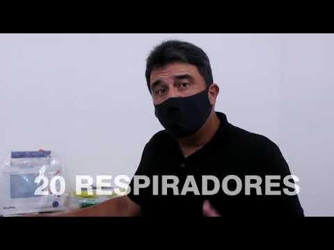Vídeo: Ministério da Saúde envia mais 20 respiradores para Serrinha. Confira!
