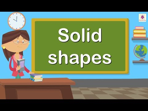 Solid Shapes | Maths for Kids | Grade 4 | Periwinkle
