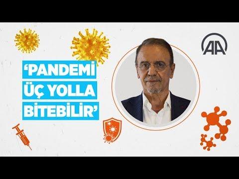 Prof. Dr. Mehmet Ceyhan: Pandemi üç yolla bitebilir