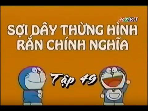 Phim Hoạt Hình Đôrêmon Thuyết Minh Tiếng Việt Tập 197- Sợi Dây Thừng Rắn Chính Nghĩa