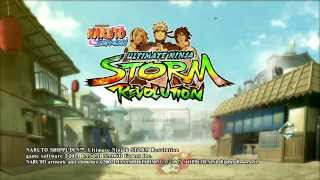 Naruto Shippuden: Ultimate Ninja Storm Revolution - In-Game Menus