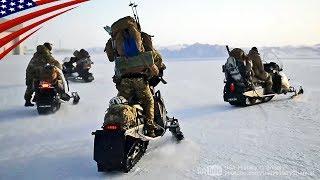 グリーンベレー(特殊部隊) スノーモービルで寒冷地に急速展開