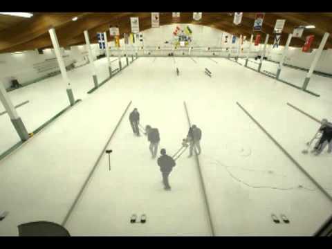 Install of Curling Ice Saskatoon Granite CC sept2009.mp4