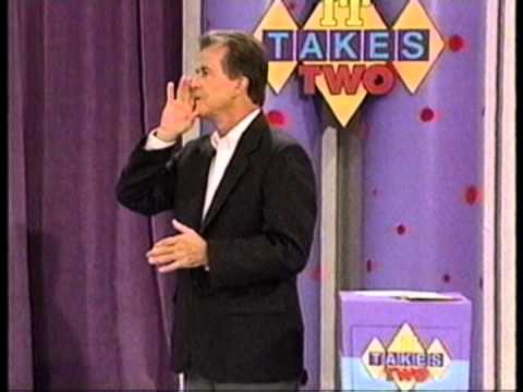 IT TAKES TWO  GAME  with DICK CLARK