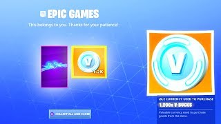 The NEW FREE ITEMS in Fortnite..