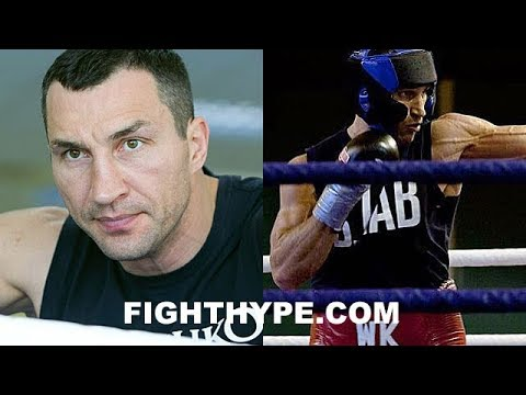 """KLITSCHKO PUTS ANTHONY JOSHUA ON NOTICE; TEASES """"FIRE IN MY BELLY"""" AND """"I STILL GOT IT"""" ON APRIL 1"""