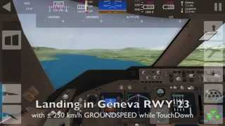 AEROFLY Lufthansa Boeing B747-400 Zurich - Geneva