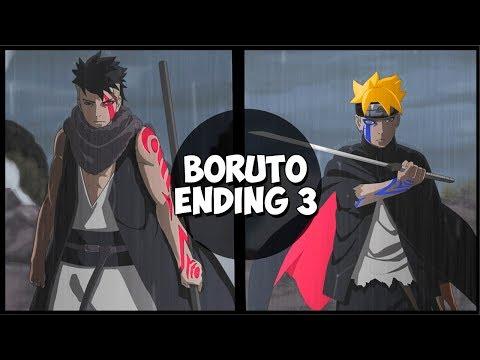 Boruto Ending 3 (MELOFLOAT - Boku wa Hashiri Tsuzukeru)