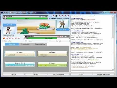 Pokemon Online Battle #7 - V.S. FourSwordMetaKnight