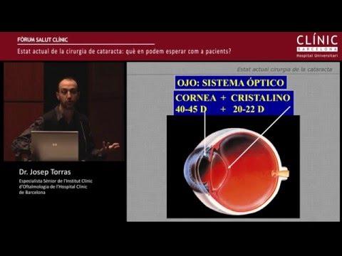 """Fòrum Salut Clínic: """"Estat actual de la cirurgia de cataracta"""" - Dr. Josep Torras"""