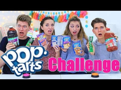 EXTREME Pop Tarts Challenge ft. Collins Key | Vlogmas Day 2 | Brooklyn and Bailey