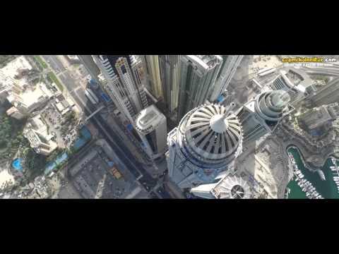 Dubai'deki Princess Tower'ın Tepesinden Atlamak