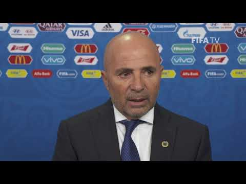 Jorge SAMPAOLI – Argentina - Final Draw Reaction