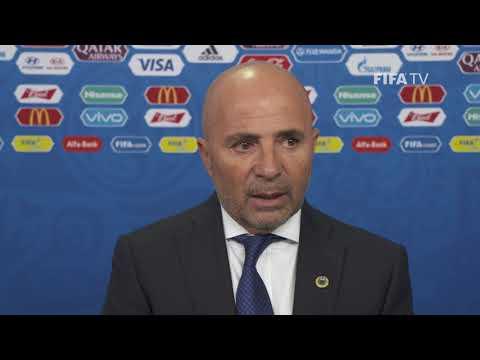 Jorge SAMPAOLI – Argentina - Final Draw Reaction