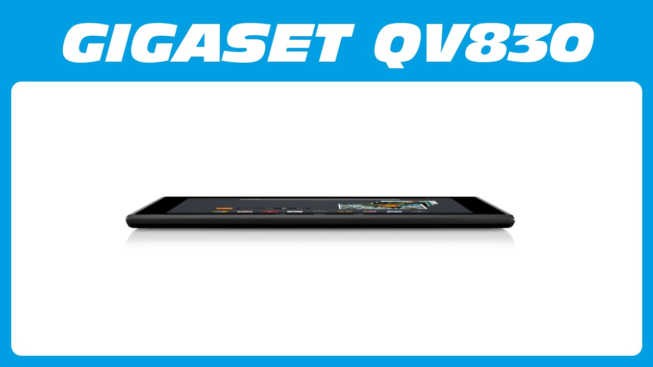 gigaset qv830 android tablet pc unboxing kurzreview youtube. Black Bedroom Furniture Sets. Home Design Ideas