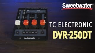 TC Electronic DVR-250DT Desktop-controlled Reverb Plug-in Review