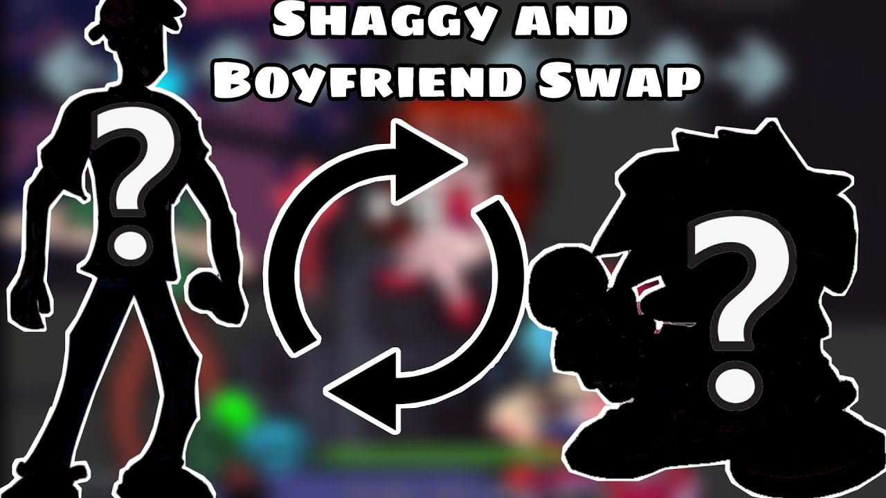 Shaggy and Boyfriend Swap | Friday night funkin SpeedPaint