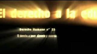 Video sobre la Declaración Universal de Derechos Humanos de las Naciones Unidas.wmv