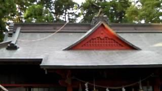 10月19日(日)鶴峯八幡宮十二座神楽「八幡様の舞」