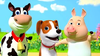 Old Macdonald Had a Farm | Nursery Rhymes for Kids | Cartoon Videos | Baby Songs by Little Treehouse