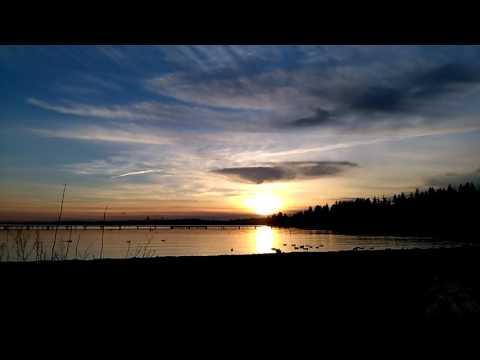 Kirkland, Lake Washington sunset