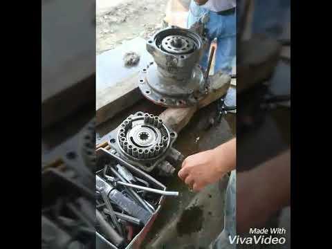 How to assemble axivator swing motor tata Hitachi || least update 2018