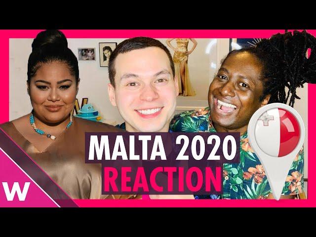 Malta Eurovision 2020 Reaction   Destiny - All of My Love