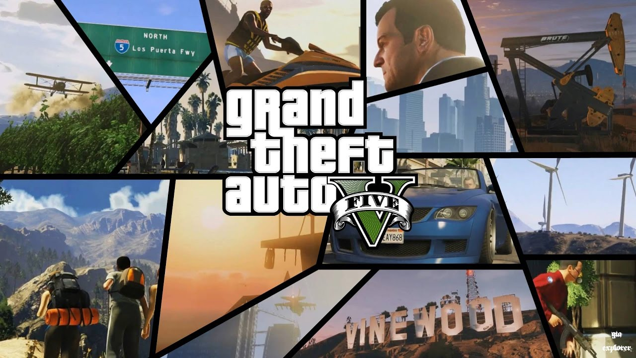Grand Theft Auto V Game Test GeForce 920MX 2GB - Intel Core i3 5005U - 4GB  RAM