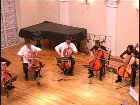 A. Stradella (arr. V. Despalj): Sinfonia a tre (cello ensemble)