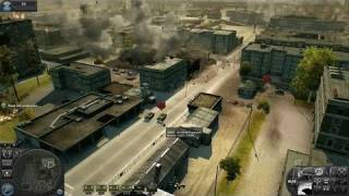 World in Conflict PC Games Gameplay - Artillery