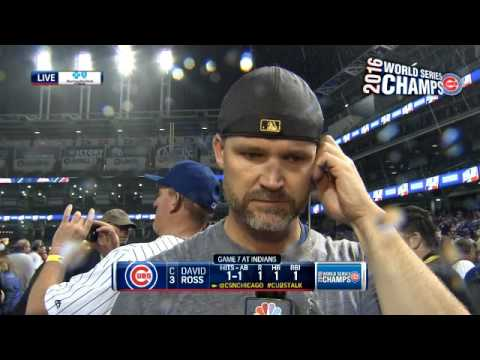 David Ross has a cereal and Jon Lester has jokes
